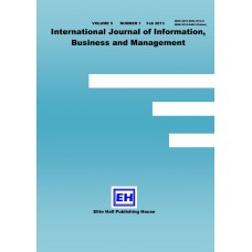 IJIBM Vol.5, No.2 2013 (Hard Copy)